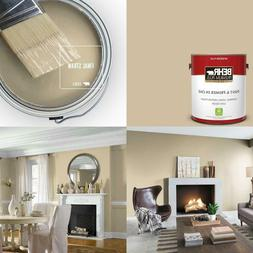 1 Gal. #S320-3 Final Straw Flat Low Odor Interior Paint And