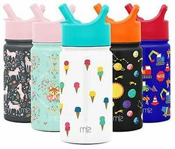 Simple Modern 14oz Summit Kids Water Bottle Thermos with Str