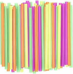 Assorted Colors Smoothie Straws