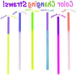 Fun Color Changing Party Straws!  Reusable, Recyclable Smoot