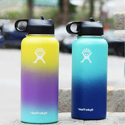Hydro 32oz Water Bottle Stainless Steel Vacuum Insulated wit