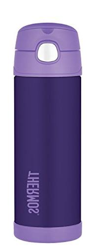 Thermos Funtainer 16 Ounce Bottle, Purple
