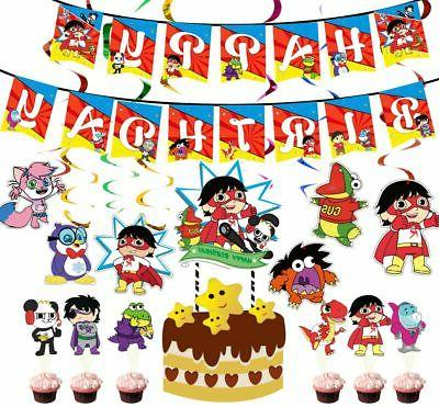 ryan s world party supplies cups plates