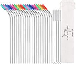 Reusable Drinking Straws for Yeti Tervis Rtic Tumbler Extra