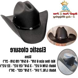 Straw Cowboy Hat Western Hats Classic Cattleman Mens Accesso
