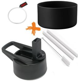 Straw Lid and Silicone Boot Cover For Hydro Flask Wide Mouth