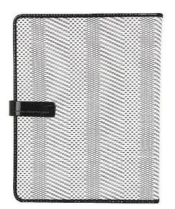 Marc Jacobs Wildcard Woven Straw Tablet iPad Folio Book Case